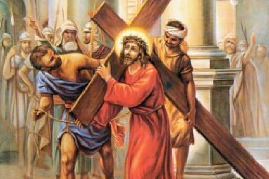 Via Crucis fino a Pasqua - II Stazione