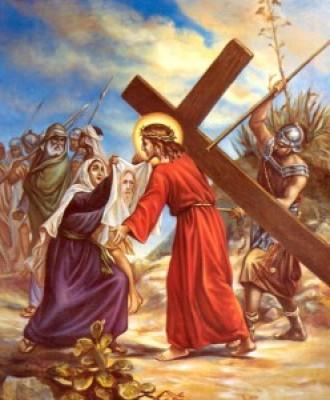 Via Crucis fino a Pasqua - VI Stazione