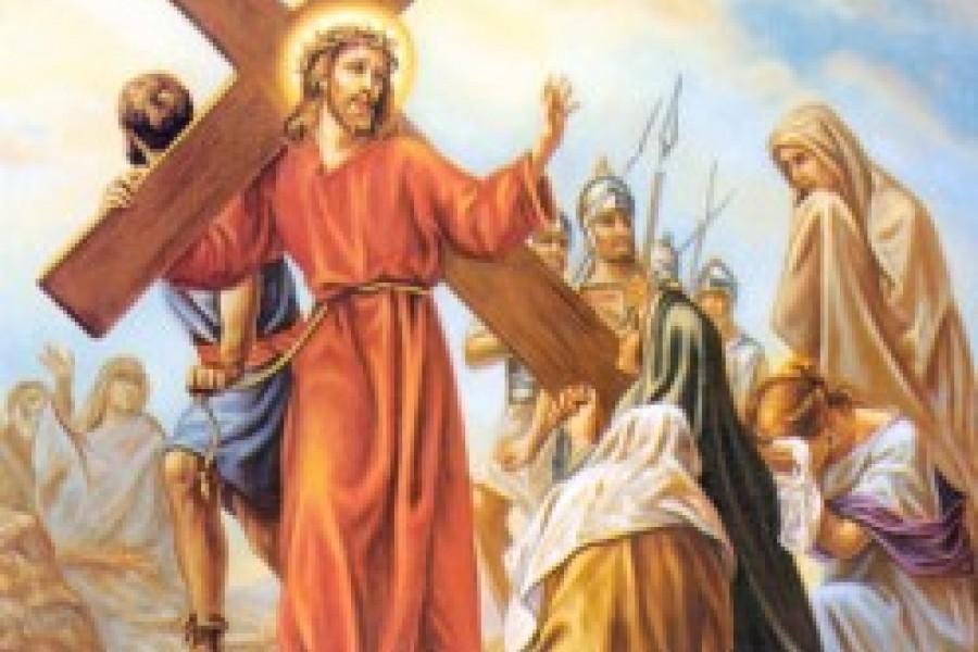 Via Crucis fino a Pasqua - VIII Stazione