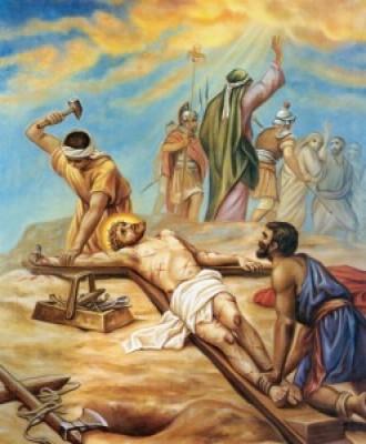 Via Crucis fino a Pasqua - XI Stazione