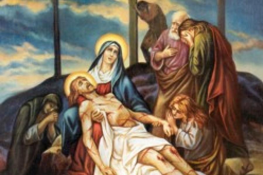 Via Crucis fino a Pasqua - XIII Stazione