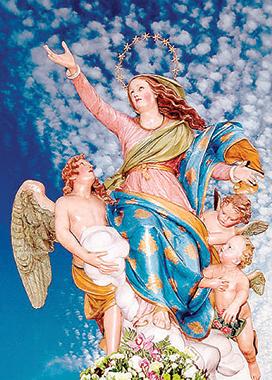 La Vergine assunta in cielo