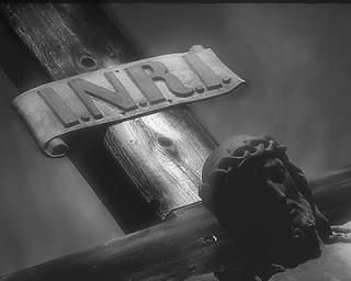 INRI: Gesù il nazzareno Re dei Giudei